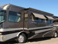 2004 HOLIDAY RAMBLER NAVIGATOR 40PBT MODEL, 41ft CLASS