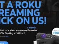 CRICKET WIRELESS IS NOW OFFERING A FREE ROKU STICK WHEN