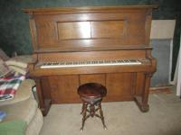 This is a Hollenberg #51819 upright piano that was