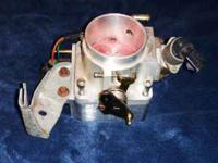 Selling one Holley 75mm throttle body, TB cable holder,