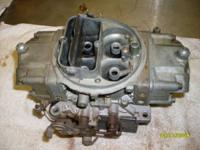 I have for sale a HOLLEY 850 double pump carb