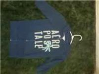 I have an XS white Aeropostale zip up coat with hood .