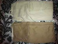 Two pairs of Hollister khaki pants. Both size 7