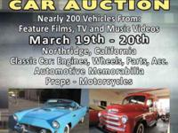 HOLLYWOOD MOVIE CAR AUCTION Collectors -- Fans --