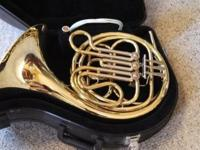 Holton Regency Single French Horn and hard storage case