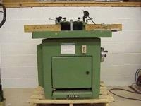 BUYER PAYS SHIPPING Holy Wood Spindle Shaper 3hp - 3/4""