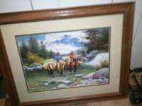 24x30 very nice pic just moved and im changeing decor.