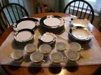 Home Beautiful China - Night Orchid pattern 8 piece