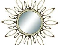The Verrelle Mirror features an intricate design