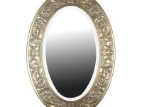 The Argento Oval Framed Wall Mirror has an antique