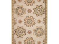 The Bianca Area Rug is designed using premium synthetic