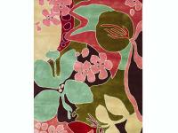 Bold and colorful, the Borneo Area Rug will bring the