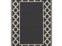 The Espana Border Area Rug features the non-traditional
