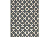 A simply simpatico outdoor area rug that's beautifully