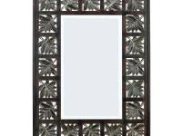 Place the Foliage Framed Wall Mirror in your living
