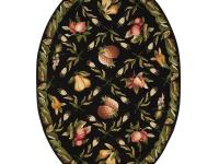 Our Fruit Garden Area Rug features an intricately