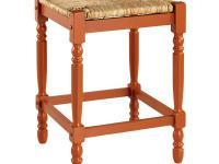 Home Decorators Collection Delmar Ivory Stripe High Back