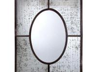 A fantastic piece of art, this wall mirror features an