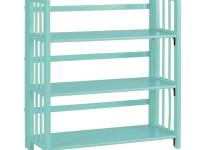 Our Folding and Stacking Bookcase adds extra shelving
