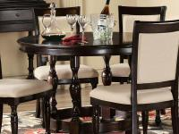 This substantial dining table from our Overton