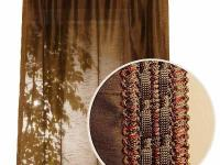 Polysilk Moss Back Tab Curtain offers a fashionable,