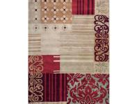 The Progressive transitional rug is made of hand-tufted