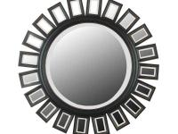 This Straus Round Framed Wall Mirror will be the focal
