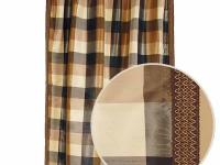 Veena Natural Drapery Panel offers a fashionable,