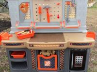 Home Depot Kids Deluxe Workbench Big Toy work station