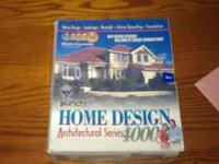 Home Design Architectual series 4000. Never been used.