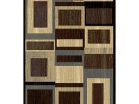 The Home Dynamix Bazaar Gal 1196-Black-Brown 7 ft. 10