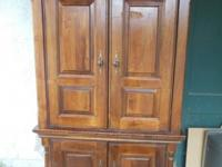 "Large, Beautiful Home Entertainment Cabinet 80"" x 45"