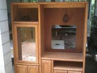 Entertainment Center,excellent shape, 2 parts, fully