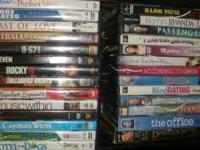 "UPDATED! DVDs are $2 - $4 Each (One ""Office"" Double DVD"