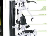 Body Solid EXM-2750 complete home gym INCLUDES leg