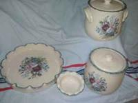 We have some Home and Garden Party dishware with the
