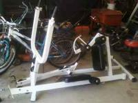 Home fitness gym for sale. Picture shows item