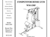 Impex competitor home gym ...CONDITION AS GOOD AS