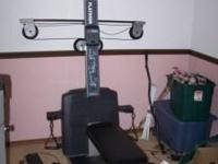 First 200 cash gets this home gym. Its all push button
