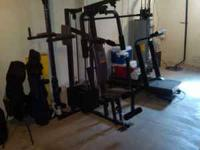 All-in-one home gym in great condtion. Great for