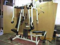 Complete home gym - very good condition - barely used -