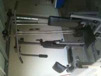 Weider pro power stack Up to 550 lbs Call  Location:
