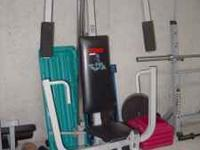 Weider Cable Home Gym- Peck Deck/Leg