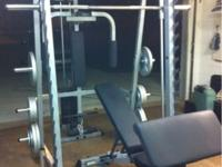Perfect Condition Home Gym! Great Deal for this