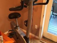 Vision Fitness U 20 Exercise Bike with Classic Console