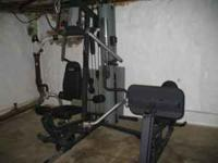 Im selling my home gym machine for $600 obo it was