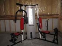 Weider 4250 total home gym. Like new condition. Moving