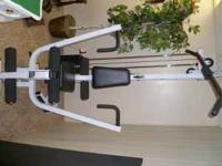 Body Solid home gym,.,. this item is about 6 yrs old,