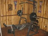I have a powerhouse weight set for sale. Has very