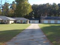 3 bed 2 bath 2 car attached garage on 2.737 acres.